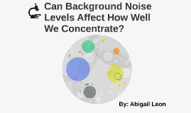 Can Background Noise Levels Affect How Well We Concentrate?