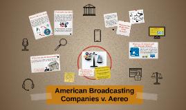 American Broadcasting Companies v. Aereo