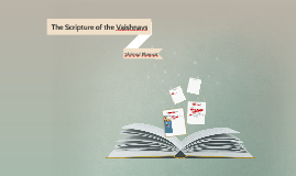 The Scripture of the Vaishnavs