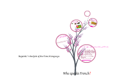 Copy of Linguistics in the French Language.