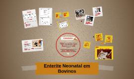 Enterite Neonatal em Bovinos
