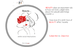 Beauty and Social Impllications TOK IA