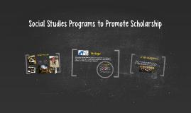 Social Studies Programs