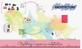 Building a career in architecture