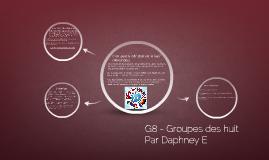 G8 Groupe de 8