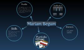 Mariam Begum