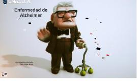 Enfermedad Alzheimer - Clase Neurociencia