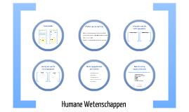 Copy of Humane Wetenschappen