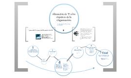 Alineación de la Teconologías de información en la empresa