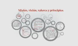 Misión, visión, valores y principios