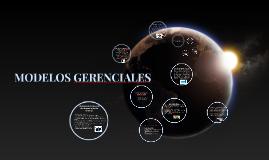 Copy of MODELOS GERENCIALES PARA LA TOMA DE DECISIONES