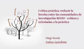 Critica práctica: reducir la brecha entre la comunidades de