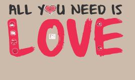 ALL Y U NEED IS