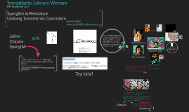 Transatlantic Literary Women