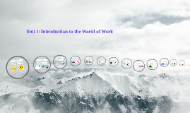 Unit 1: Introduction to the World of Work
