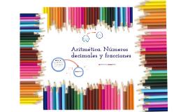 Aritmética. Números decimales y fracciones