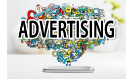 1. Advertising is an audio or visual form of marketing commu