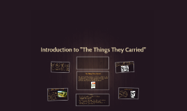 Introduction to The Things They Carried