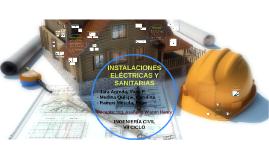 INSTALACIONES ELÉCTRICAS Y SANITARIAS