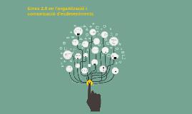 Ús de les eines 2.0 en l'organització i difusió d'esdeveniments