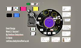 Event Design -Session 1