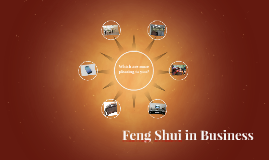 Feng Shui in Business