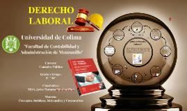 DERECHO LABORAL DEL TRABAJO