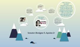 The Leader Senator Benigno S. Aquino Jr