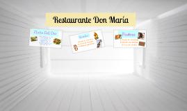 Restaurante Don María