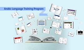 Copy of Arabic languageTraining program