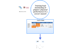 Monitoring of players' physical performance in a soccer (Hougang)