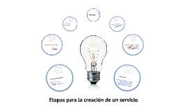 Selección y diseño de un servicio