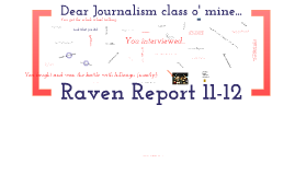 Raven Report year overview 11-12