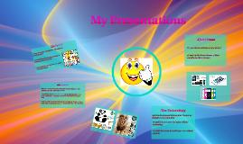 My Presentations