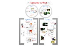 AP Bio- Physiology 6:  Hormonal Control