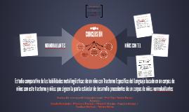 Copy of Estudio comparativo de las habilidades metalingüísticas de u