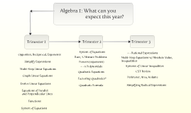 Algebra 1: Curriculum