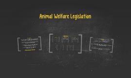 Animal Welfare Legislation