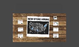 New Store Hiring