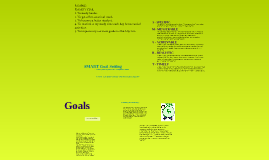 Goal Setting - Career Ed. 9/10