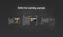 Reflective Learning Journals