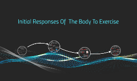 Initial Responses Of  The Body To Exercise