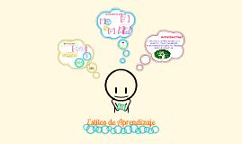 Copy of Estilos de Aprendizaje