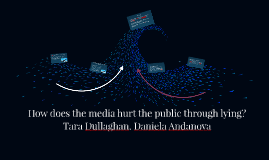 What role does perception of the media place in relation to