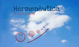 Hermeneutica II