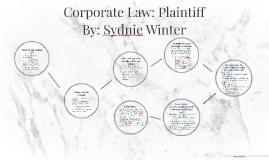 Copy of Corporate Law: Plaintiff