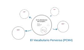 El Vocabulario Perverso (PCM4)