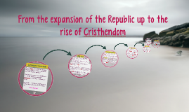 From the expansion of the Republic up to the rise of Cristhe