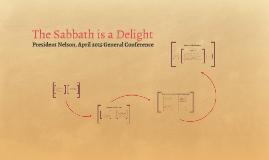The Sabbath is a Delight