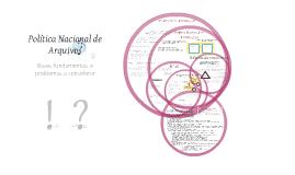Copy of Política Nacional de Arquivos